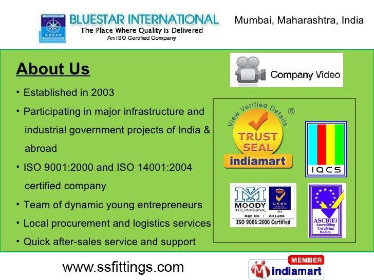 About Us <ul><li>Established in 2003 </li></ul><ul><li>Participating in major infrastructure and </li></ul><ul><li>industr...