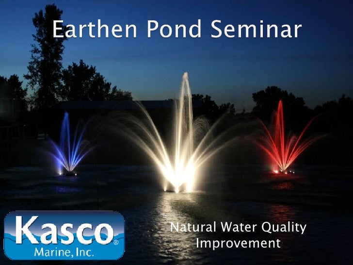 Natural Water Quality   Improvement