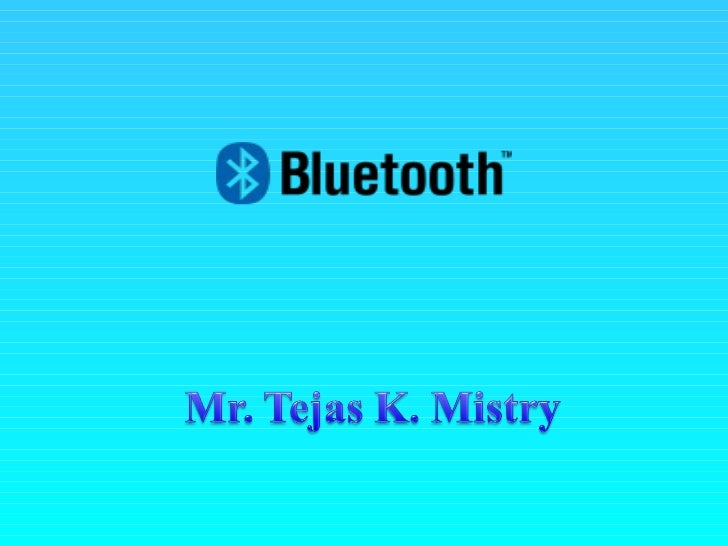 What is Bluetooth?Bluetooth is a method for data communication that uses short-range radio links to replacecables between ...