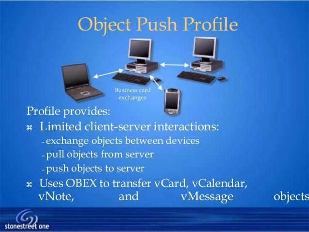 Bluetooth 21 object push profile business card colourmoves