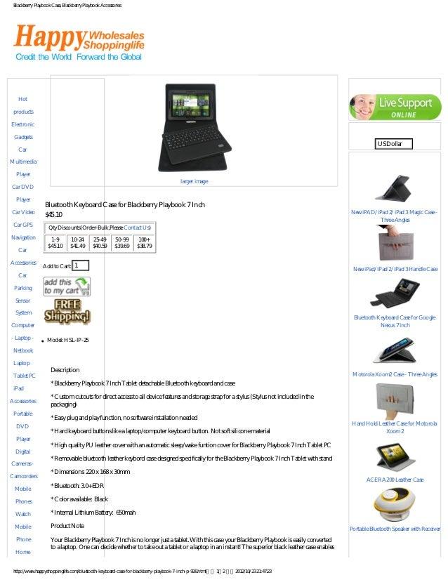 Blackberry Playbook Case, Blackberry Playbook AccessoriesCategories                                                       ...