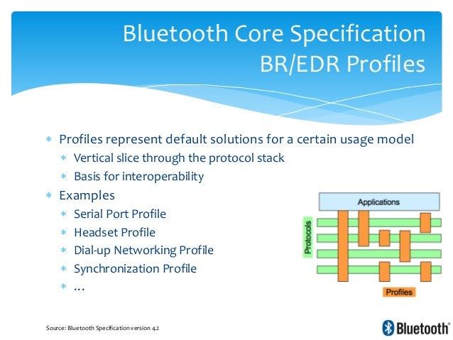 Bluetooth bluetooth low energy internals - Bluetooth low energy serial port profile ...