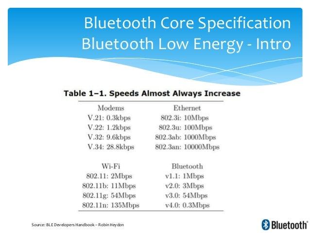 Bluetooth & Bluetooth Low Energy internals