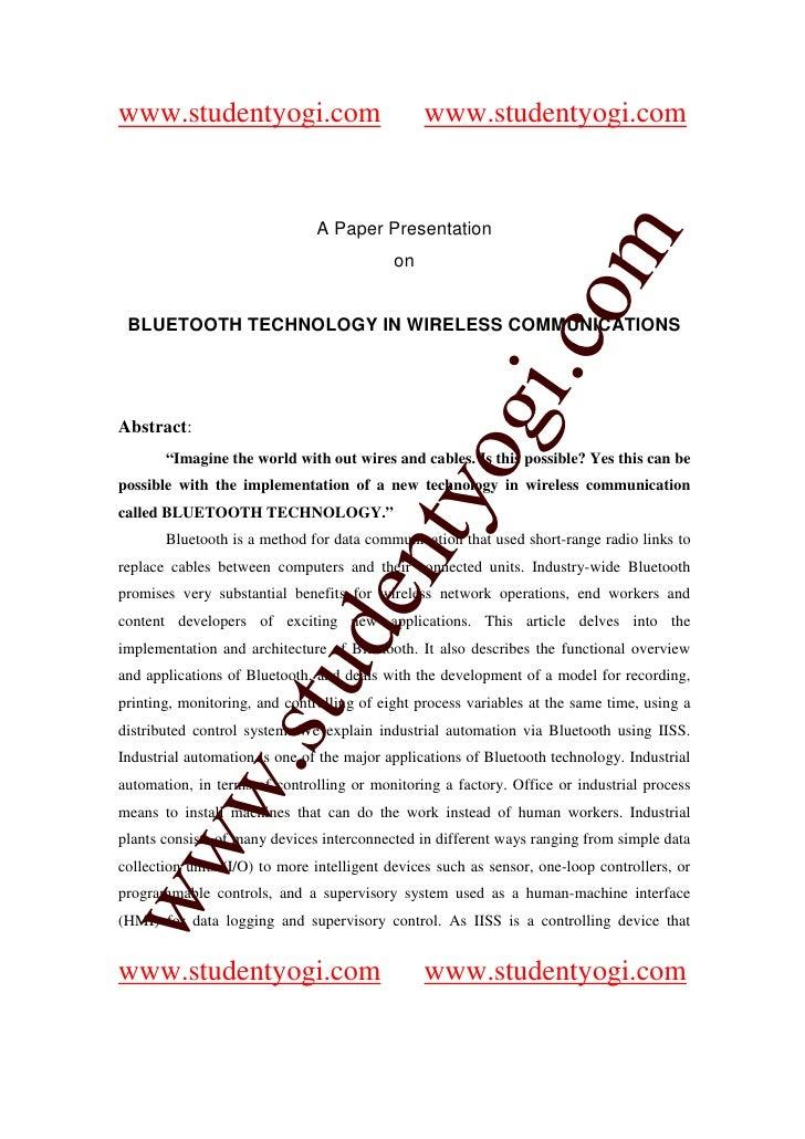 www.studentyogi.com                             www.studentyogi.com                                  A Paper Presentation ...