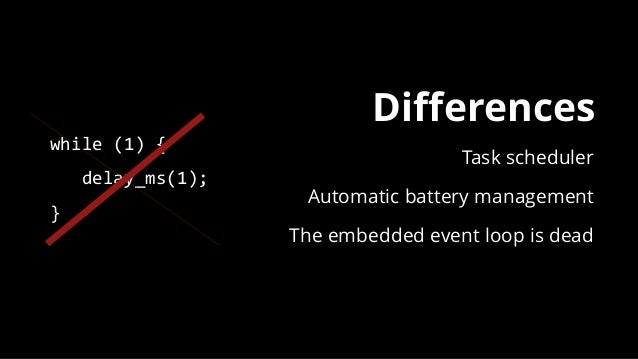 Developing with mbed and Bluetooth LE - Bluetooth World 2016