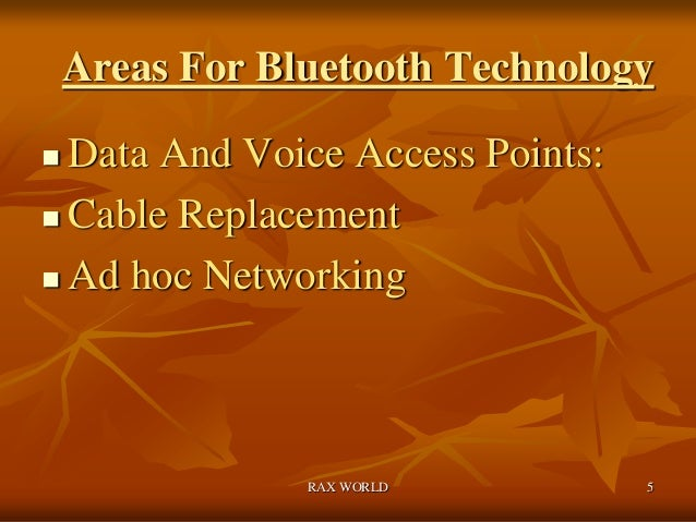 Bluetooth the new invension of last century