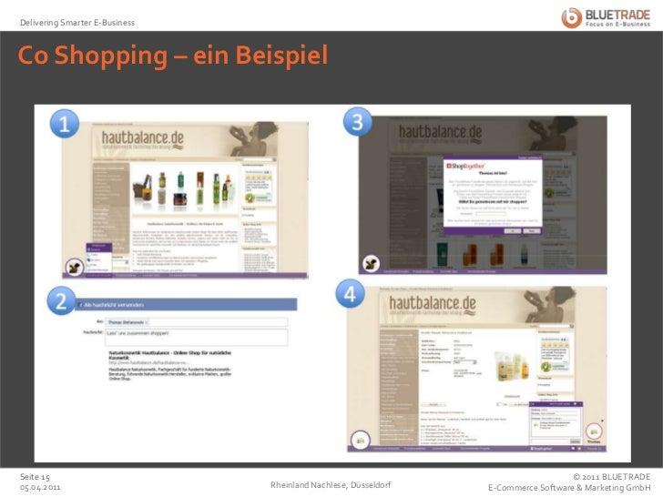 Co Shopping – ein Beispiel<br />25.02.2011<br />Rheinland Nachlese, Düsseldorf<br />Seite 15<br />