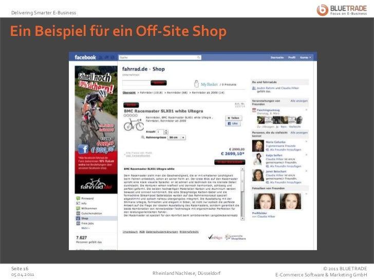 Ein Beispiel für ein Off-Site Shop <br />Rheinland Nachlese, Düsseldorf<br />25.02.2011<br />Seite 16<br />