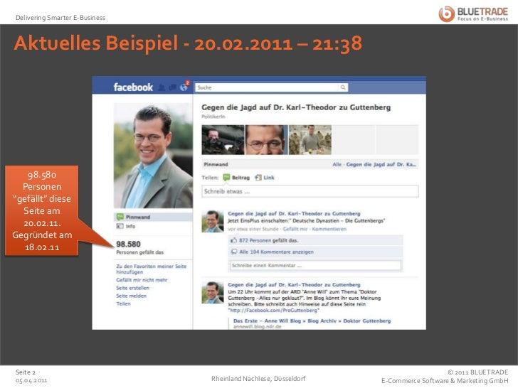 """Aktuelles Beispiel - 20.02.2011 – 21:38<br />Rheinland Nachlese, Düsseldorf<br />25.02.2011<br />98.580 Personen """"gefällt""""..."""