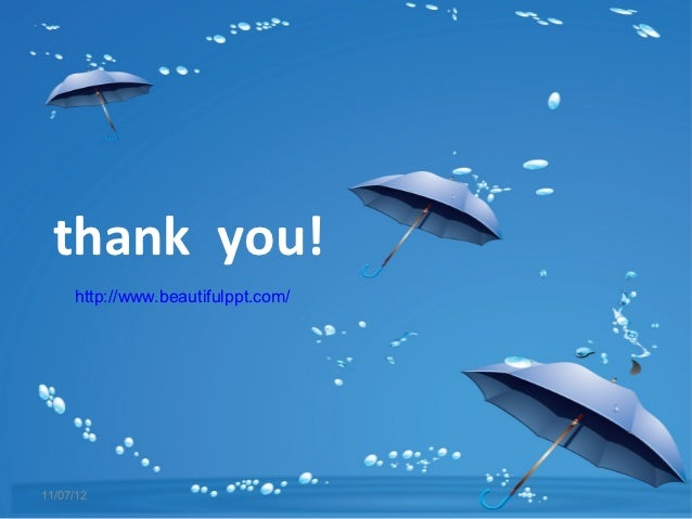 Free powerpoint template blue umbrella you httpbeautifulppt110712 toneelgroepblik Images