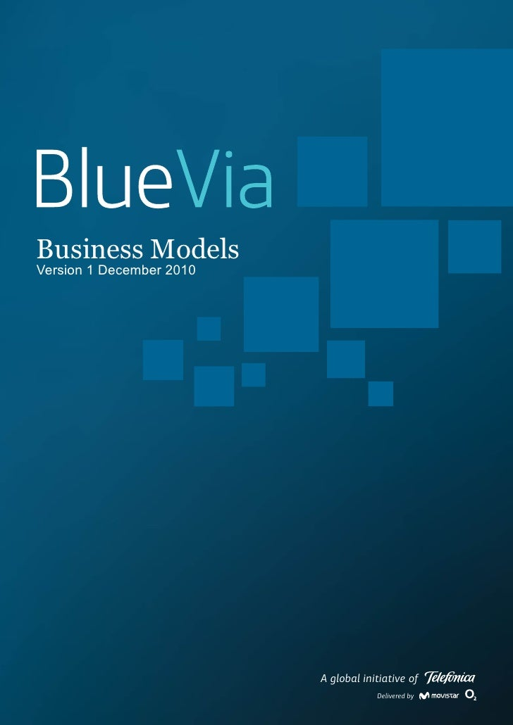 Business ModelsVersion 1 December 2010                          A global initiative of                                    ...