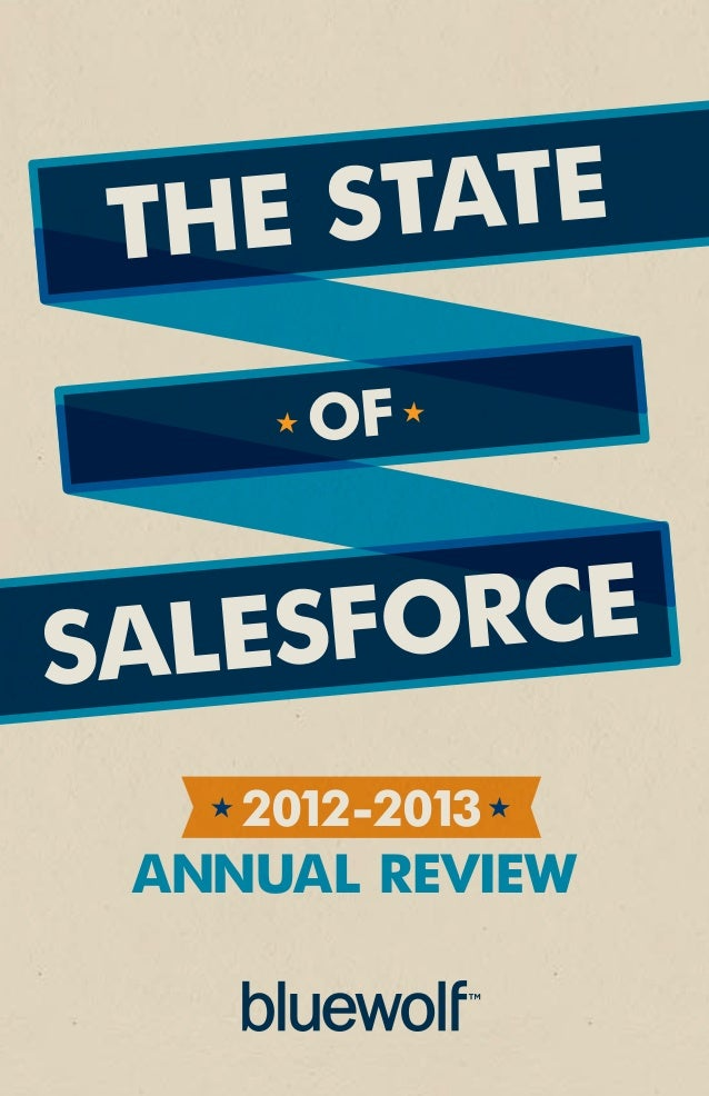 the state      ofsalesforce    2012-2013 annual review
