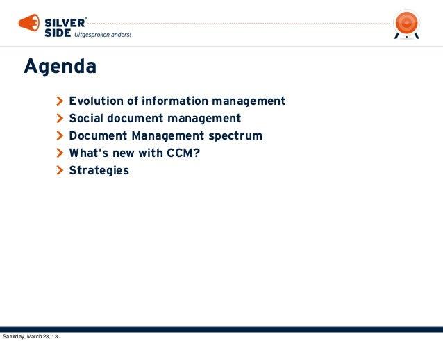 BLUG 2013: Social Document Management in IBM Connections Slide 3
