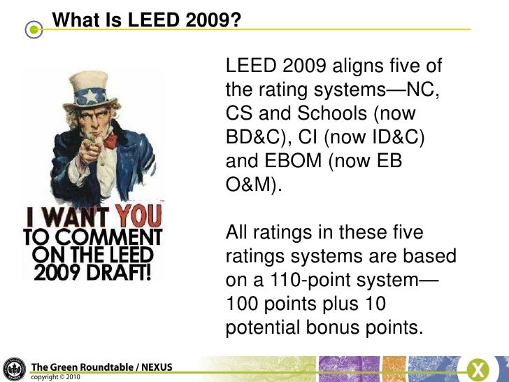 Blug leed version 3 changes presentation for What is leed