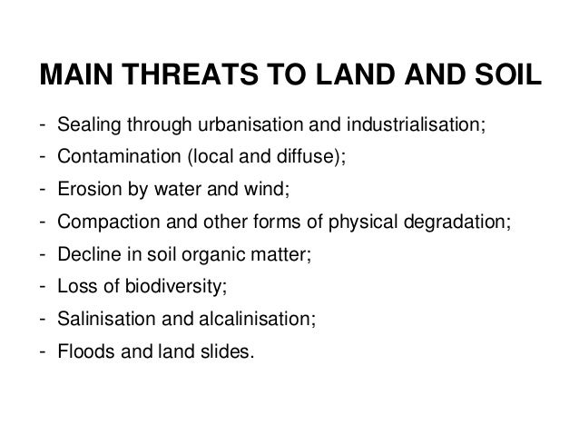 Sustainable management of land and soil multi for Land and soil resources wikipedia