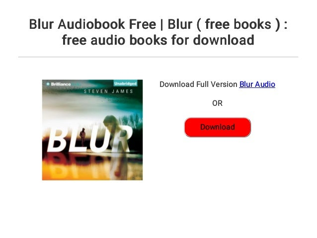 Blur Audiobook Free | Blur ( free books ) : free audio books