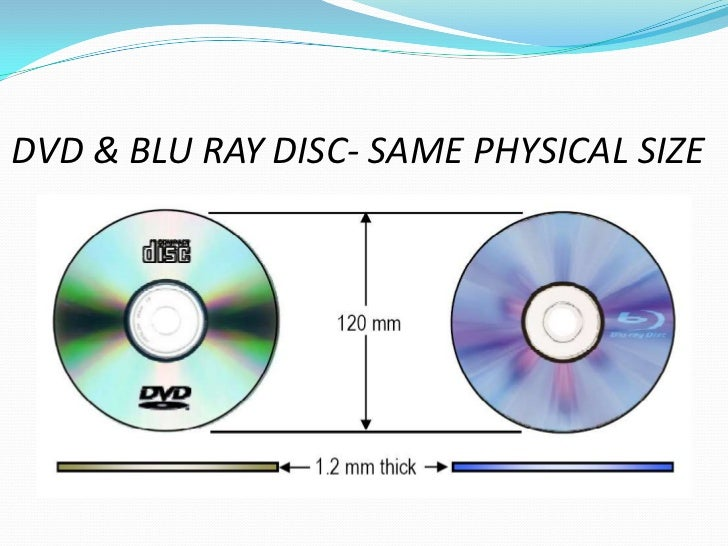 blue ray discs advanced format of This led to the blu-ray optical disc format, which mandates support for two new  video standards: mpeg-4 avc (advanced video coding) and.
