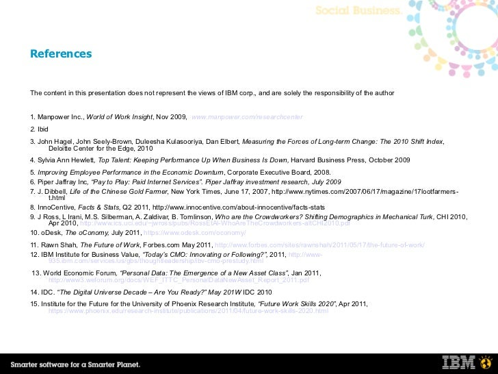 corporate social responsibility of ibm pdf