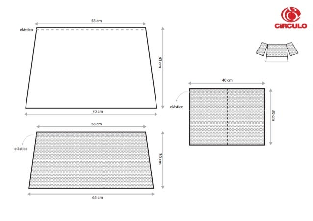 58 cm  eléstico     W3 87  40 cm  eléstico 70 cm  Lu:  0:  58 cm     eléstico  um 02     65 cm