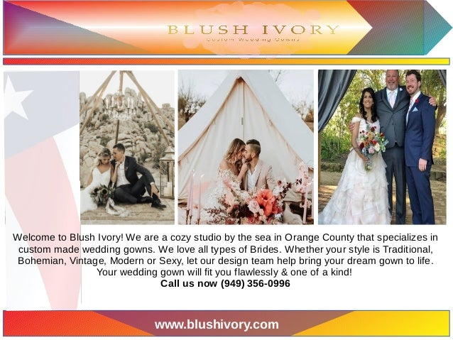 Wedding Dresses Orange County Blushivorycom