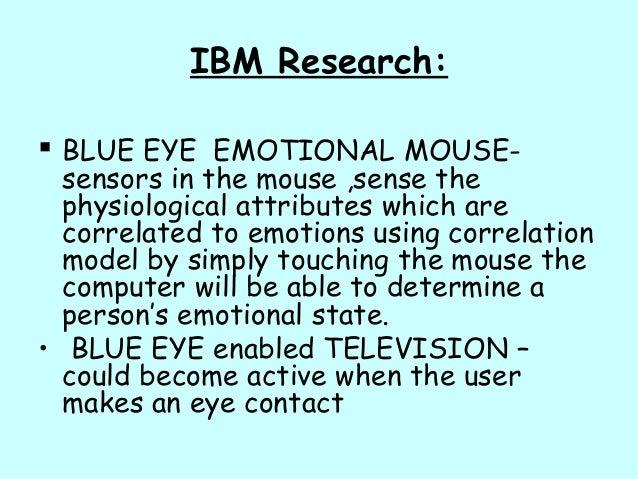 Blue Eyes Technology - Human Operator Monitoring System