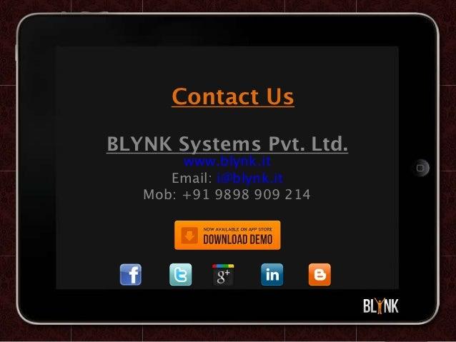 Blynk hotel app