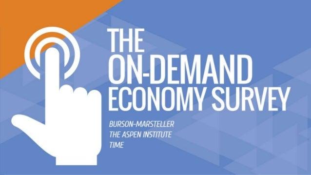 The On-Demand Economy Survey Slide 1