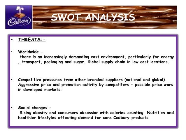 analysis of the cadbury business Cadbury is one of the most iconic confectionery brands in the world the  company, known for its dairy milk bar, is now a part of mondelez.