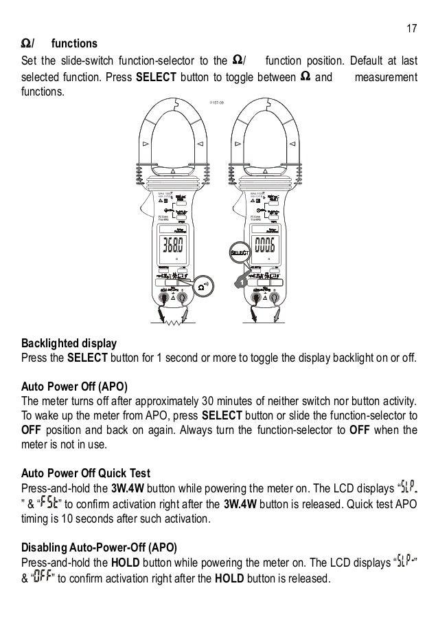 Brymen BM157 BM357 User's Manual