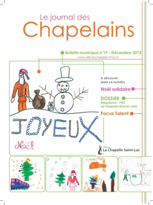 La Chapelle Saint-Luc - Bulletin municipal n°19