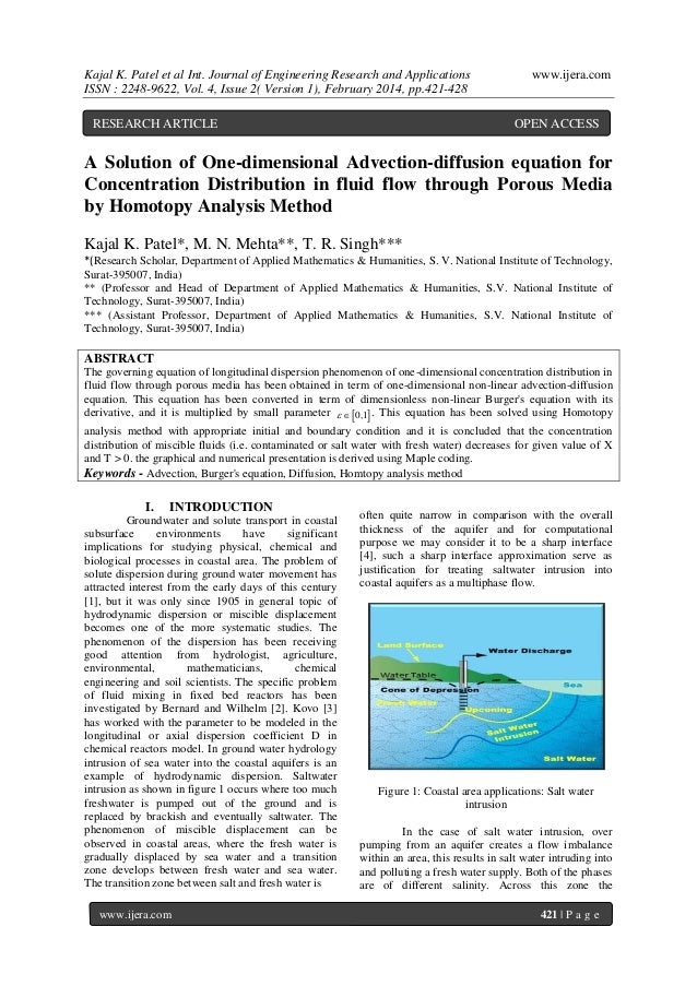 Kajal K. Patel et al Int. Journal of Engineering Research and Applications ISSN : 2248-9622, Vol. 4, Issue 2( Version 1), ...