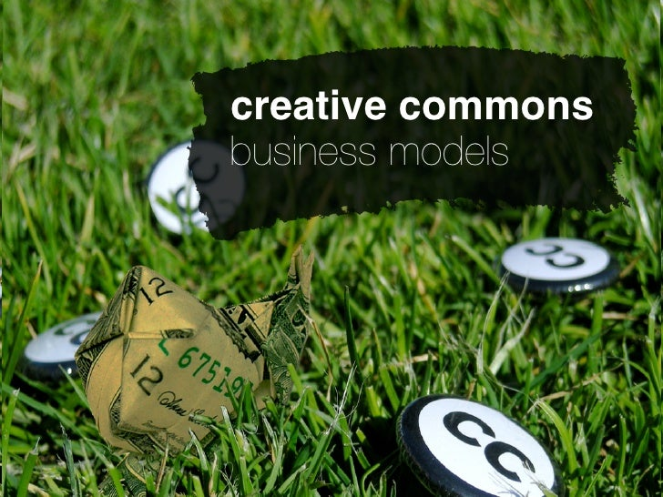 creative commons business models
