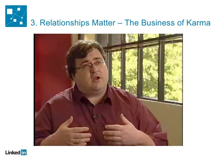 3. Relationships Matter – The Business of Karma