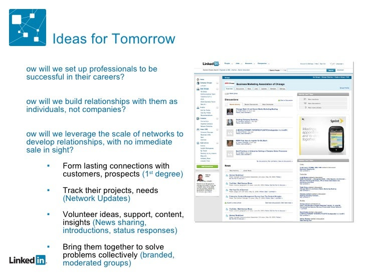 Ideas for Tomorrow <ul><ul><li>How will we set up professionals to be successful in their careers? </li></ul></ul><ul><ul>...