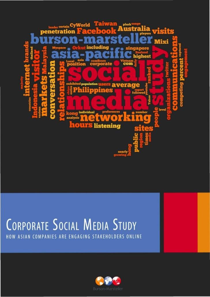 B-M Asia-Pacific Social Media Study 2010 (Full)