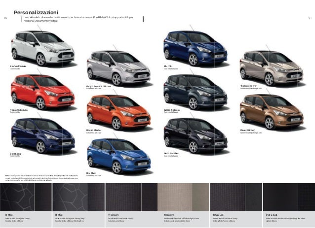 New Ford C Max >> FORD B-MAX