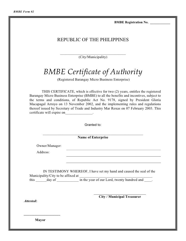 the request contains no certificate template information - bmbe certificate of authority sample image collections
