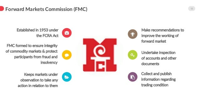 Effect of FMC-SEBI Merger in India