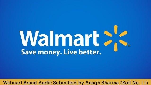 walmart brand audit