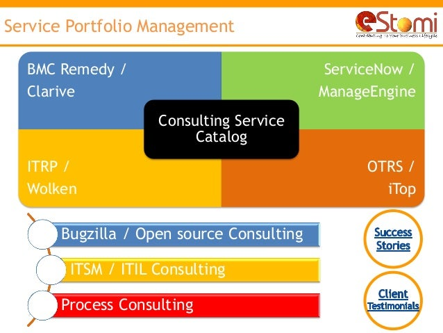 Bmc Remedy By Estomi Itsm Amp Bsm Consulting