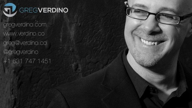 Greg Verdino - Digital Revolutionaries - Brand ManageCamp 2015