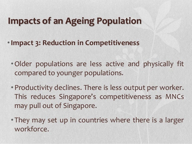 impact of ageing population essay Essays on population ageing in least developed countries  essay 1: the impact of an ageing population on  the impact of an ageing population on.