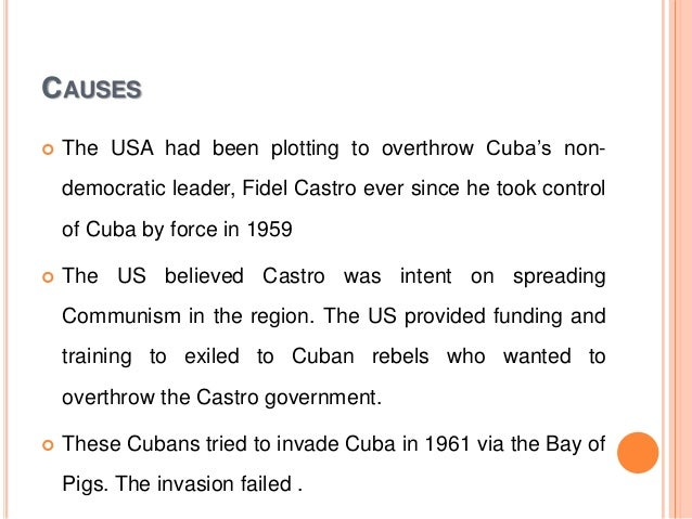 analyse role cuba development cold war A collection of cold war essay questions written by  policies and events contributed to this separate development 2  what role did he play in castro's cuba 6.