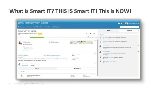 Take A Look Under The Hood Of Bmc Remedy With Smart It An