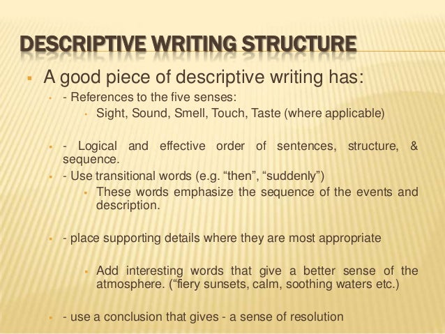 organization of descriptive essays 1/09 clrc writing center structure of a personal narrative essay narrative is a term more commonly known as story narratives written for college or personal.