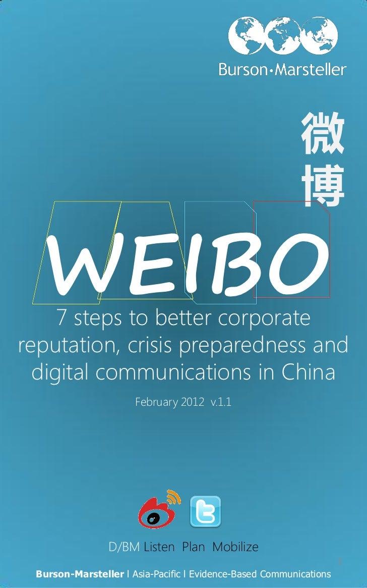 微D/BM l China Digital and Social Media at Burson-Marsteller                                                               ...