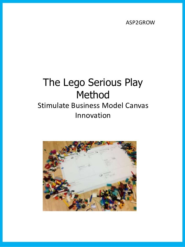 ASP2GROW The Lego Serious Play       MethodStimulate Business Model Canvas           Innovation