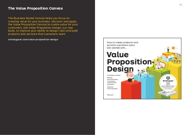 The Value Proposition Canvas The Business Model Canvas helps you focus on creating value for your business. Discover and a...