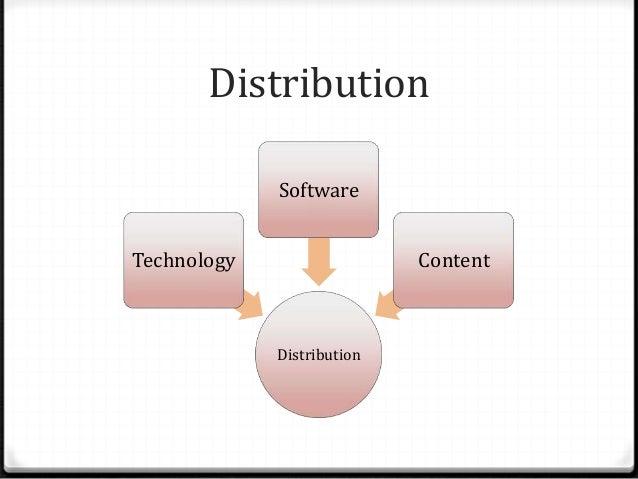 Distribution Distribution Technology Software Content