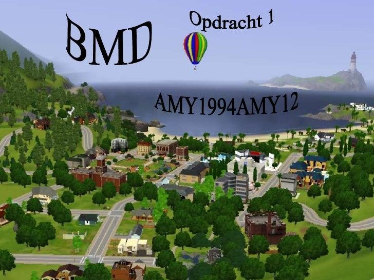 BMD Opdracht 1 AMY1994AMY12